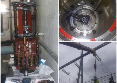 Maintenance régleur en charge Alsthom MIII350 et son armoire MAC27E