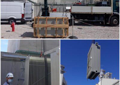 Maintenance transformateur FORTUNE ELECTRIC 7MVA 5500/2080V