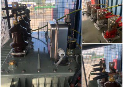 Expertise électrique et analyse d'huile sur transformateur CG 450kva 3150/400kV
